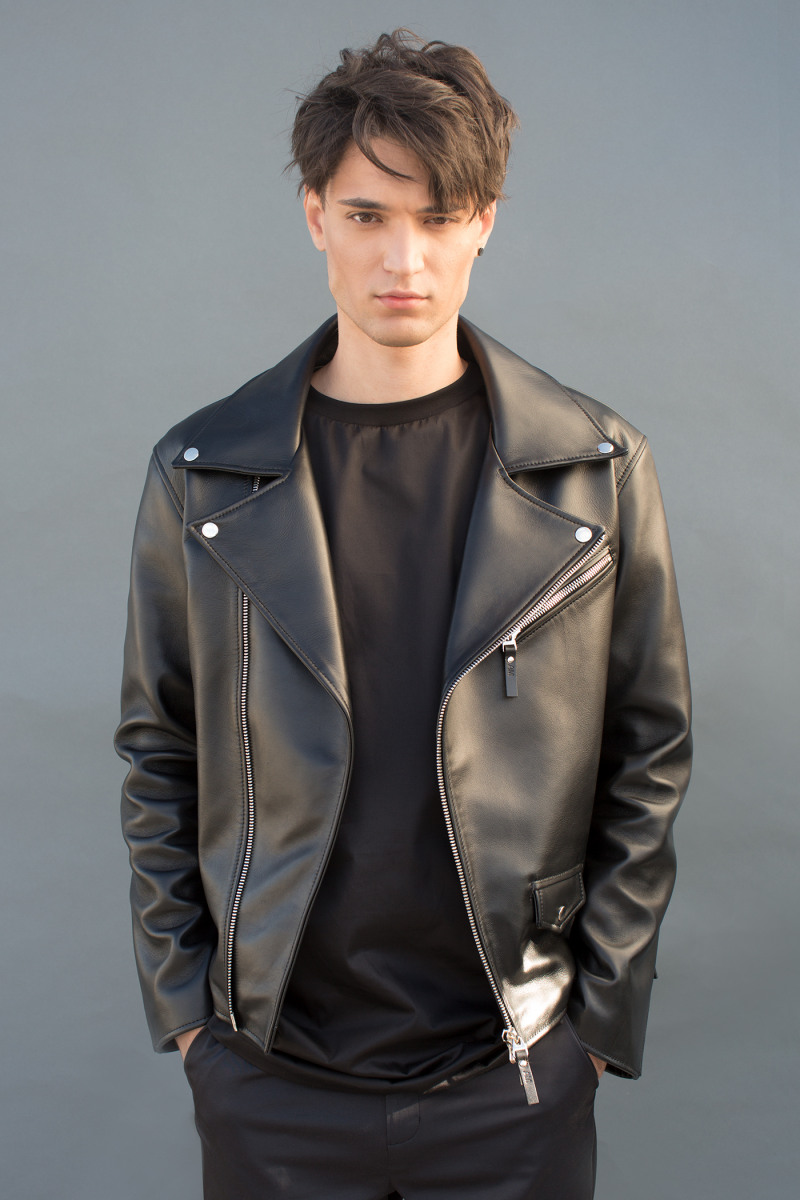 Asya Malbershtein Leather Jacket