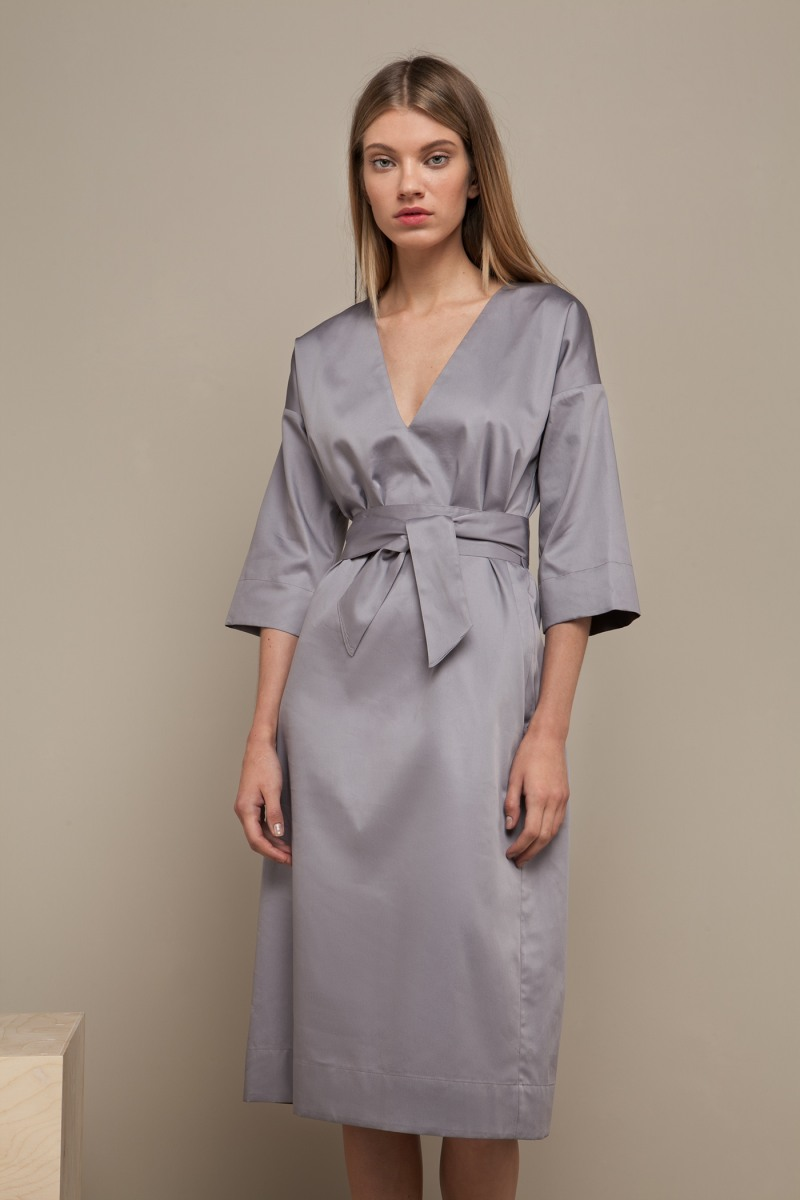 Asya Malbershtein 'Japan' mid-length dress
