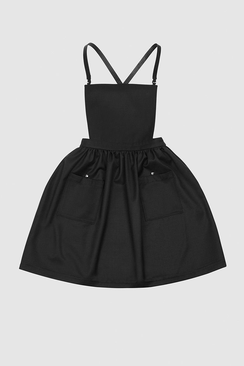 Asya Malbershtein Pinafore dress