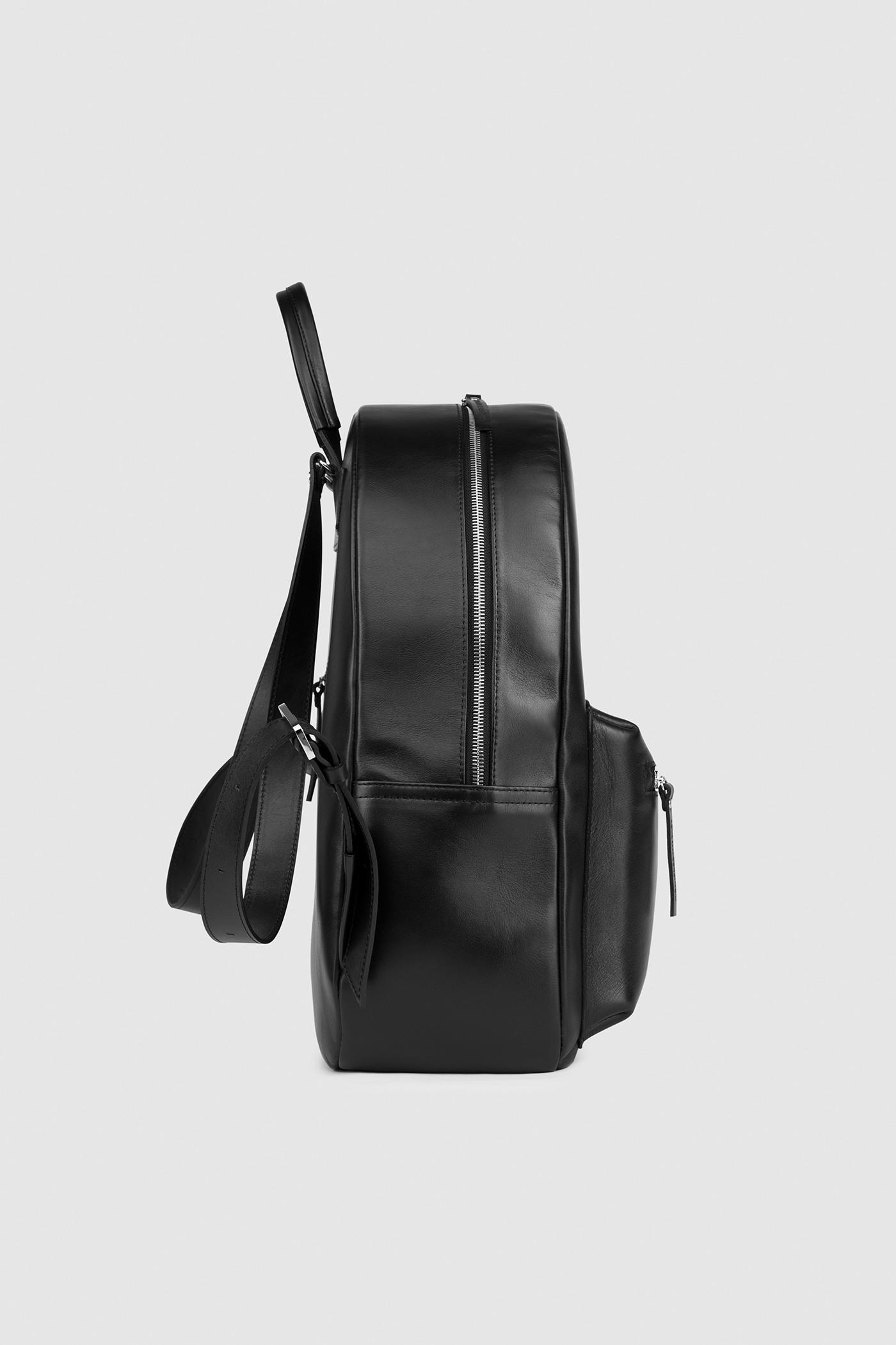 Большой рюкзакГородской классический рюкзак &#13;<br>&#13;<br>&#13;<br>унисекс&#13;<br>&#13;<br>внутри отделение для ноутбука&#13;<br>&#13;<br>передний объемный карман на молнии&#13;<br>&#13;<br>карман на молнии на задней стенке&#13;<br>&#13;<br>тканевая подкладка&#13;<br>&#13;<br>лямки на регуляторах&#13;<br>&#13;<br>размеры: S 33x26x9.5 см, М 43х12х33 см<br><br>Цвет: Черный<br>Размер: S, M